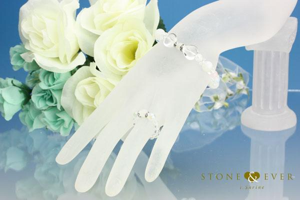 誕生石6月【ムーンストーン】 天然石アクセサリー