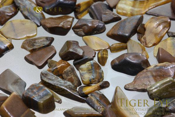【風水インテリア】 さざれ石(天然石・小粒) 『タイガーアイ』